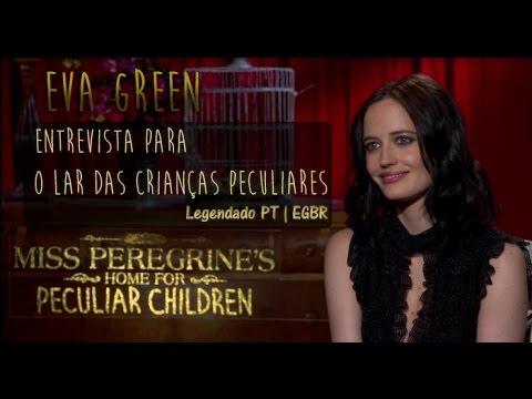 EGBR | Eva Green em entrevista sobre Miss Peregrine | PT - Legendado