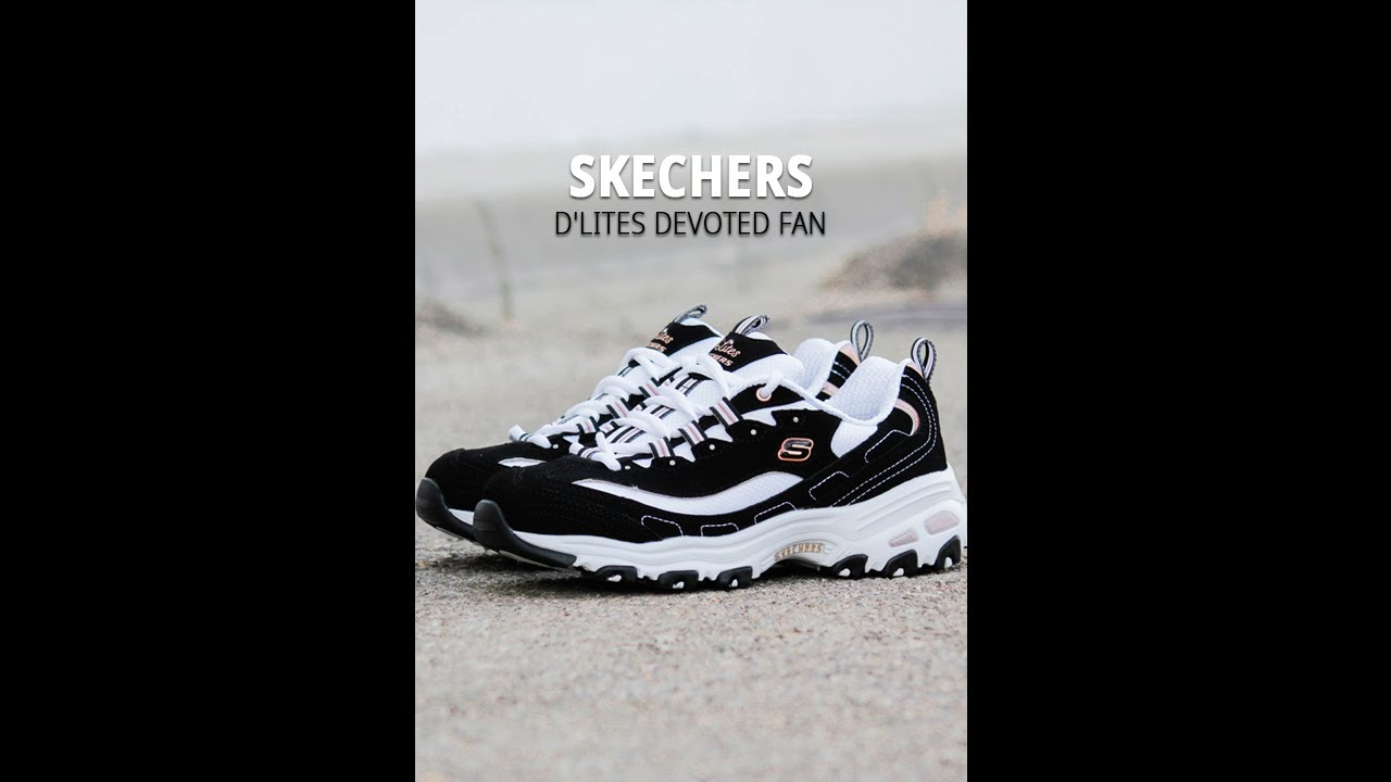 Visible Interesante revolución  SNEAKERS SKECHERS D'LITES DEVOTED FAN 13154 (VERTICAL VIDEO) | CATCHALOT -  YouTube