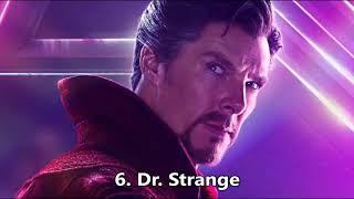 Top 10 Strongest Infinity War Characters