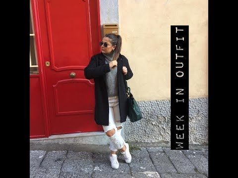 WEEK IN OUTFIT || ErreQuadro
