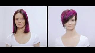 Креативная женская стрижка. Академия парикмахерского искусства Cut and Color