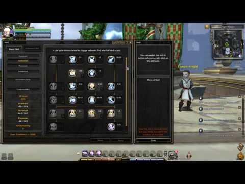 Dragon Nest Europe Lv93 Awakened Physician PVE Skill Build