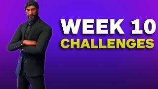 Fortnite: Stone Circle, Wooden Bridge, and Red RV + Week 10