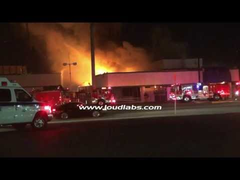 Firefighters Battle a Structure Fire in REAL TIME Footage