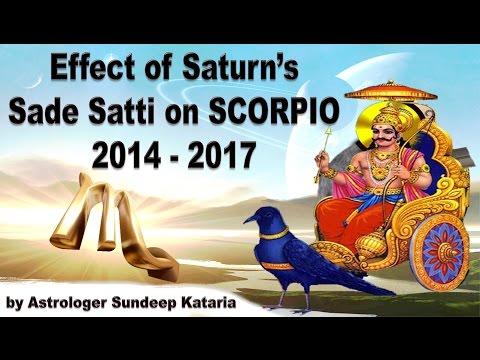Saturn sade sati in vedic astrology