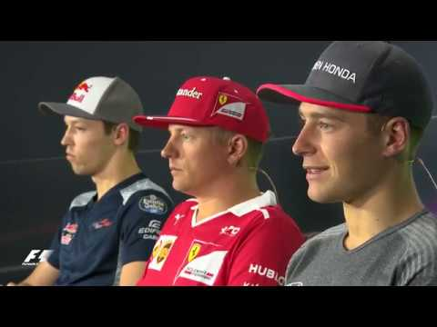 2017 Azerbaijan Grand Prix: Pre-Race Press Conference