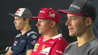 2017 Azerbaijan Grand Prix: Pre-Race Press Conference