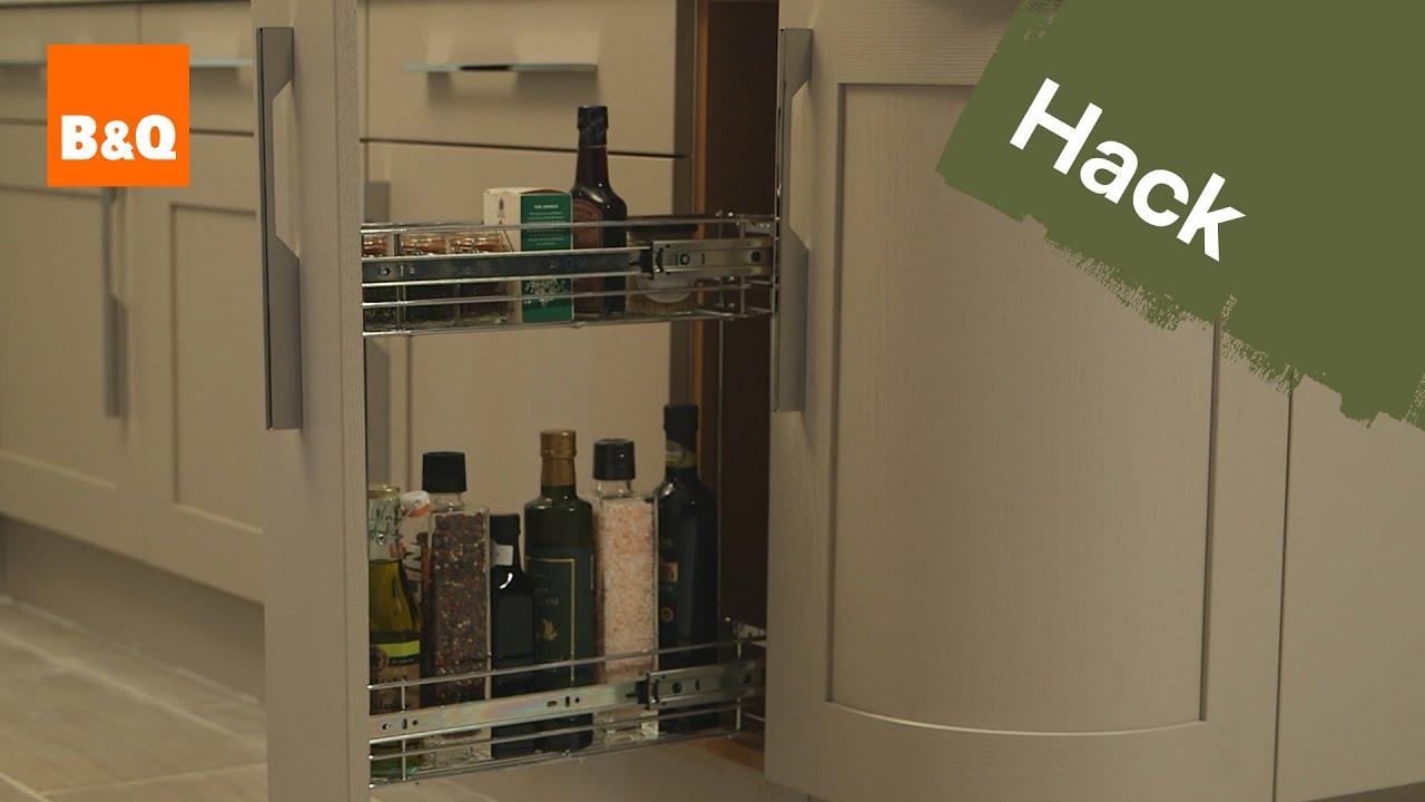 B And Q Kitchen Appliances Kitchen Storage Solutions Spice Up Your Storage Youtube