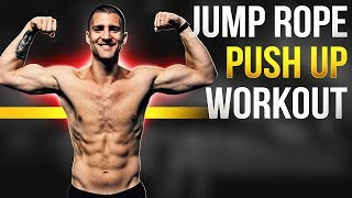 Jump Rope + Push Up Workout Full Length
