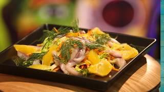 Рецепт недели: салат из селёдки с апельсинами. И это вкусно!