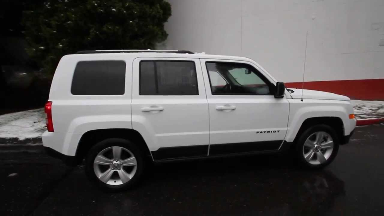 2014 jeep patriot sport | white | ed704076 | seattle | bellevue