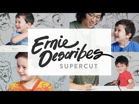 Ernie Describes Supercut | Kids Describe | HiHo Kids