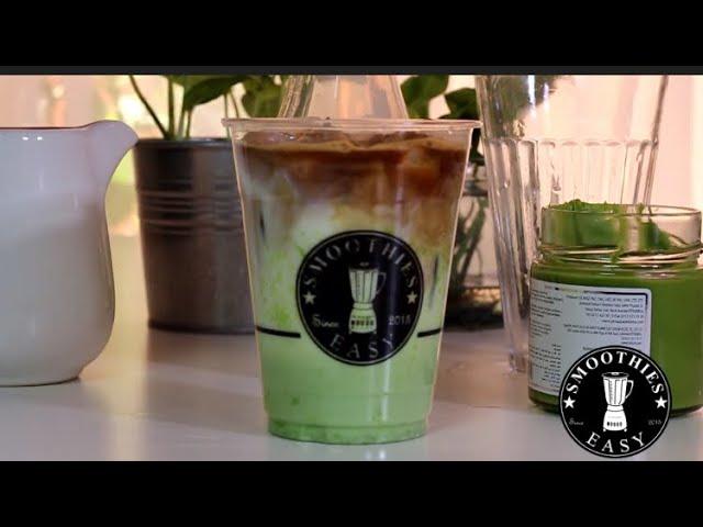 لاتيه البستاشيو Iced Pistachio Latte Youtube