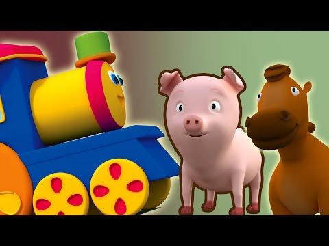 Bob, the Train | bob tàu hỏa chuyến thăm tới trang trại | bob tàu hỏa bài hát cho trẻ em