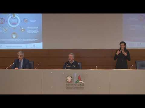 Conferenza stampa 5 aprile 2020 ore 18.00 – Coronavirus