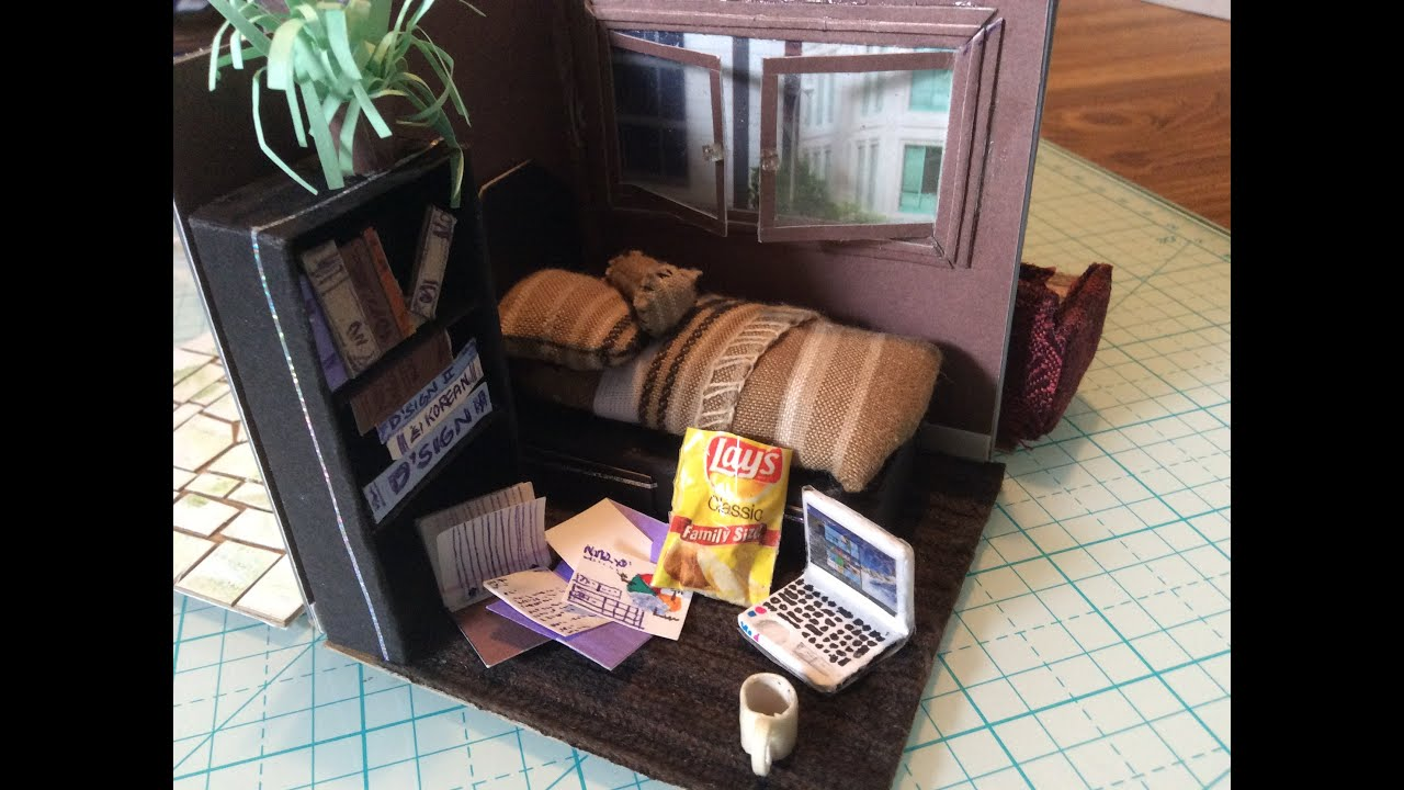 Folding dollhouse made from cereal boxes youtube folding dollhouse made from cereal boxes ccuart Choice Image