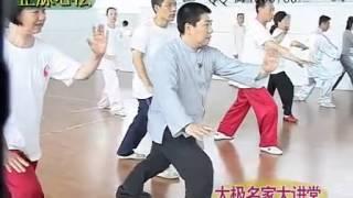 傅清泉楊氏太極拳培訓 Fu Qing Quan Taichi Training