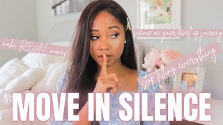 How To REALLY M๐ve In Silence