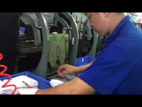 Reebok  Adidas shoe factory  with TaiZheng full automatic Rubber machine