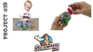 How to Make a Secret Agent Safe from a Can of Soda: SonicDad.com Project #19