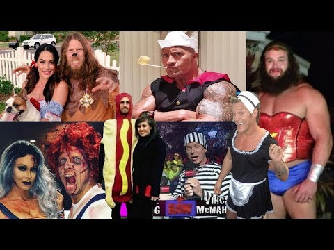 SETH ROLLINS AS A HOTDOG!!! - WWE Superstar Halloween Costumes!!!