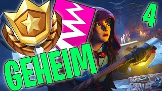 GEHEIMER BATTLE PASS STERN / BANNER WEEK 4 SEASON 6 - FORTNITE BATTLE ROYALE ENGLISH