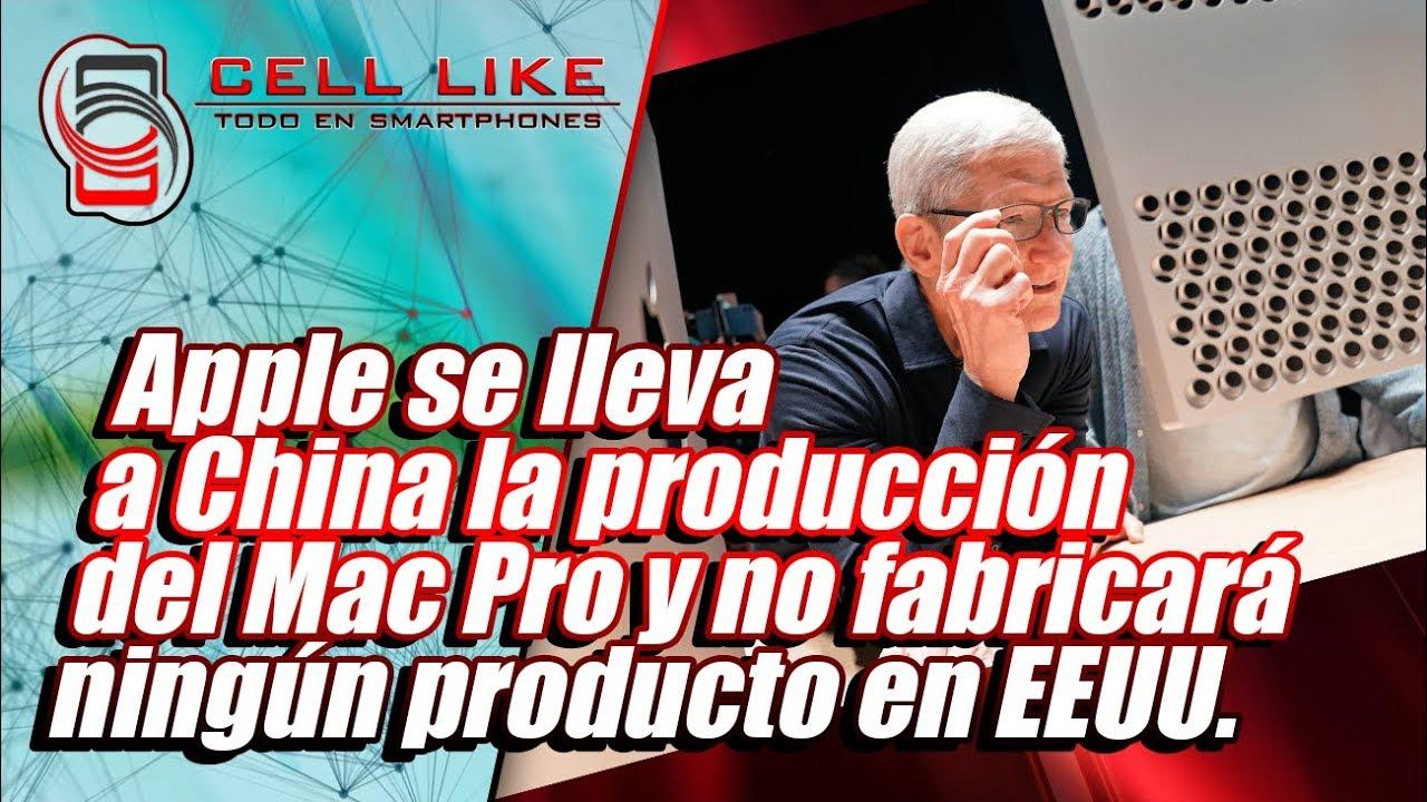 fcc41a43d10 Apple se lleva a China la producción del Mac Pro y no fabricará ningún  producto en EEUU.