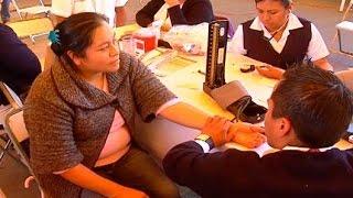 Reciben habitantes de Tepeyanco servicios médicos de la Jornadas por la Salud