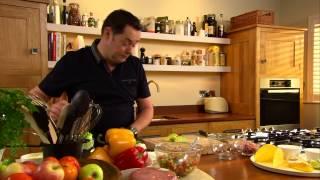 Neven Maguire Preparing Ham Tacos