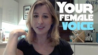 Discovering your female voice - how I found mine