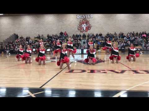 Eagle Valley High School Devil Dancers 1/24/17