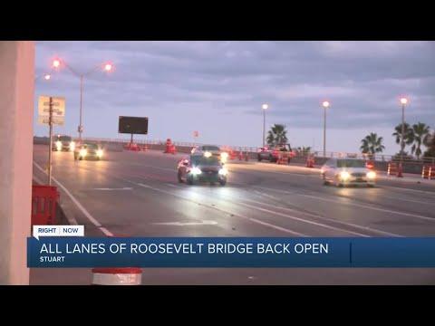 All-lanes-on-Roosevelt-Bridge-reopen-ahead-of-schedule-in-Stuart