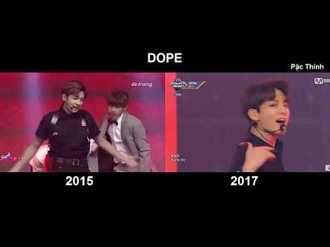 BTS DOPE 2015 & 2017