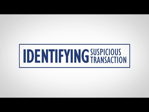 AML/CFT Awareness – Identifying Suspicious Transaction (Red Flags)