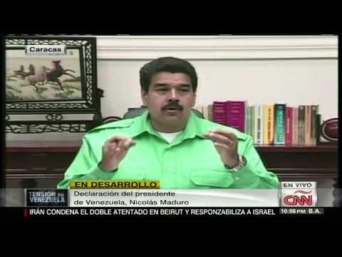 Maduro: Estas imágenes no las sacará jamás CNN