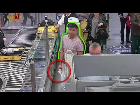 Fiumicino, ladro in aeroporto: ecco come ruba migliaia di euro durante i controlli di sicurezza