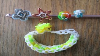Rainbow Loom- 4 Cute Mini Charms (Original Designs)