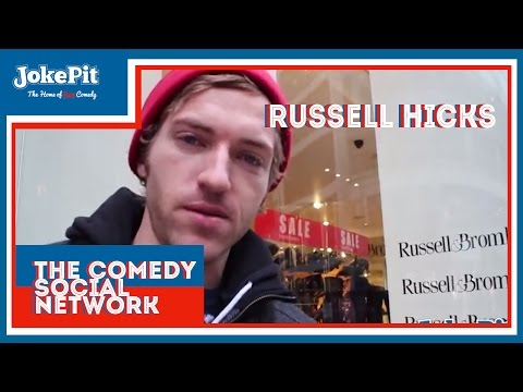 Russell Hicks Comedian Interview Powered By JokePit