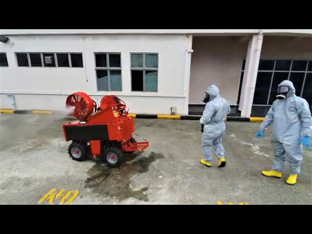 Area Decontamination with LUF Micro