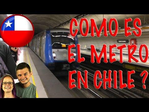 COMO ES EL METRO EN SANTIAGO... PERUANO EN CHILE | KCEXP