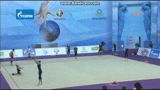 Тренировка. Групповые упражнения 10 булав(Данное видео принадлежит группе RUSSIAN TEAM DAILY . http://vk.com/club_team_of_russia., 2013-08-15T14:10:49.000Z)