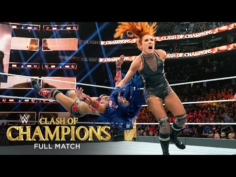 FULL MATCH - Becky Lynch Vs. Sasha Banks – Raw Women's Title Match: WWE Clash Of Champions 2019