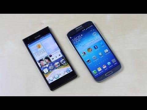 Huawei Ascend P2 vs. Samsung Galaxy S4: Benchmark | SwagTab