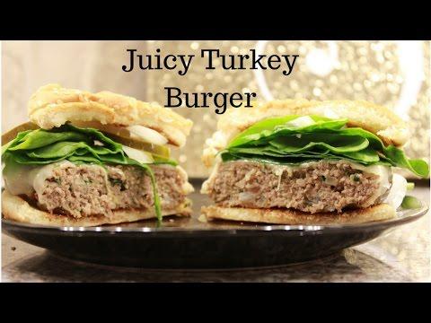 Best Juicy Turkey Burgers