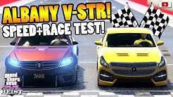 🏁💩Leider SCHMUTZ!🏁💩 ALBANY V-STR Speed + Race Test! [GTA 5 Online Casino Heist Update DLC]