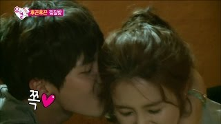 tvpp song jae rim powerful kiss 송재림 시크릿 가든 뺨치는 윗몸일으키기 키스 we got married