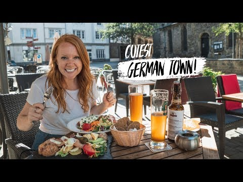 Tasting German Food + Exploring Most Beautiful German City! (Goslar, Germany)