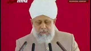 Germany Jalsa 2008 - Huzur's Address to the Ladies (2)