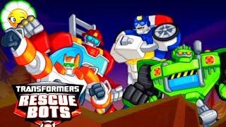 Transformers Rescue Bots #8  Новые задания для Ботов Спасателей! Выдвигаемся и спасаем!