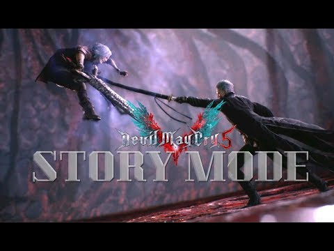 Devil May Cry 5 STORY MODE (English Voice & Subtitles)